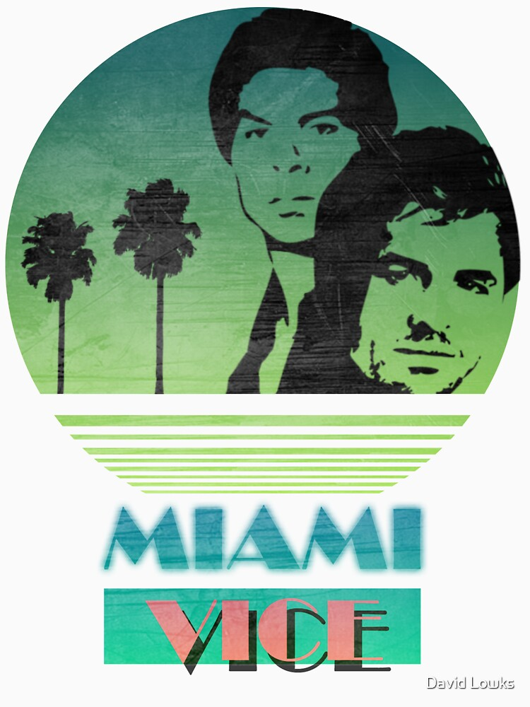 Men's Miami Vice Baseball Shirt
