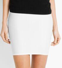 Shut up and dance (white) Mini Skirt