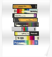 Video Tape 80's Style Poster