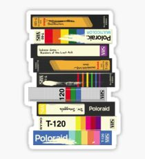 Video Tape 80's Style Sticker