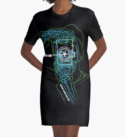 Cameralabs Photography X-Ray Graphic T-Shirt Dress