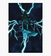 Space Wizard Photographic Print