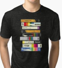 Video Tape 80's Style Tri-blend T-Shirt