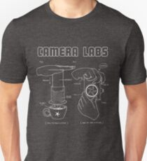 Cameralabs Photography and Coffee (White artwork) Slim Fit T-Shirt