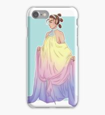 Rey in Padmé dress iPhone Case/Skin