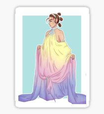 Rey in Padmé dress Sticker