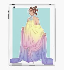 Rey in Padmé dress iPad Case/Skin