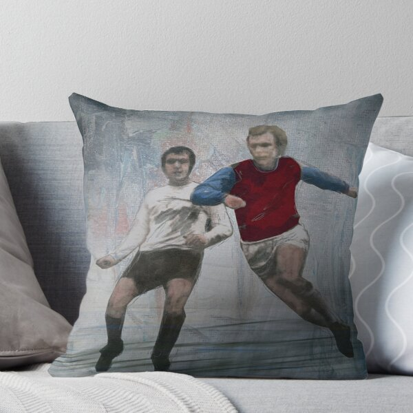 Bobby Moore Throw Pillow