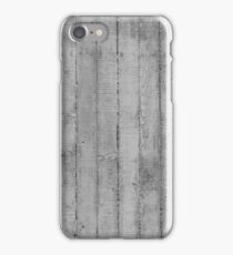 Board Marked Concrete Texture, Vertical iPhone Case/Skin