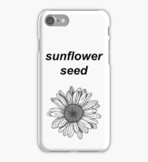 sunflower seed iPhone Case/Skin
