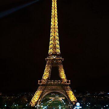 Paris - Eifel Tower by night by Fl0werdauqhter