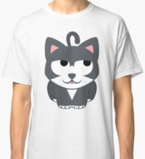 Lovely Cat Emoji Thinking Hard and Hmm Look Classic T-Shirt