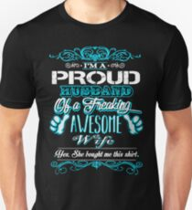 a gift from wife to husband Unisex T-Shirt