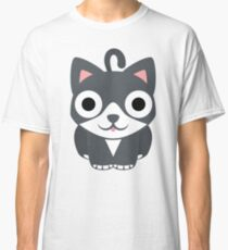 Lovely Cat Emoji Shocked and Surprised Look Classic T-Shirt
