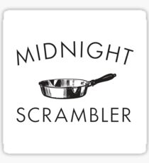 Midnight Scrambler Sticker