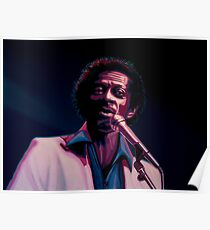 Chuck Berry Painting Poster