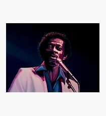 Chuck Berry Painting Photographic Print