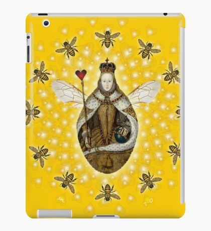 Mandala Queen Bee iPad Case/Skin