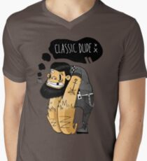 Classic dude Men's V-Neck T-Shirt