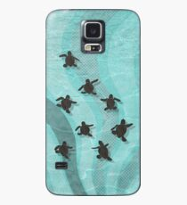 Loggerhead Sea Turtle Hatchlings Case/Skin for Samsung Galaxy