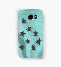 Loggerhead Sea Turtle Hatchlings Samsung Galaxy Case/Skin