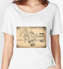 Tammy The Little Doll Girl  Women's Relaxed Fit T-Shirt