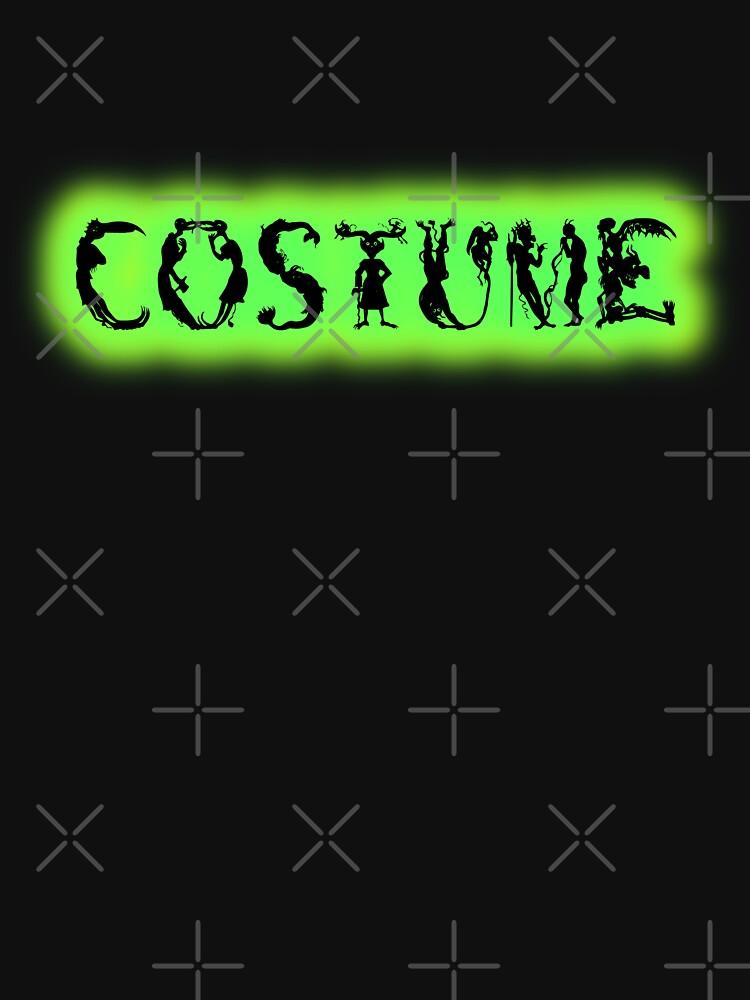 Monster-Lettered Costume (Green) by Thogek