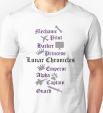 Lunar Chronicle characters Unisex T-Shirt