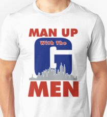 Man Up with the G-MEN your favorite NY Team T-Shirt