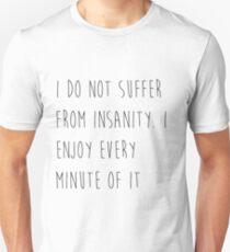 Edgar Allan Poe Quote T-Shirt