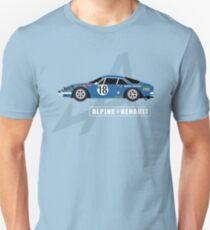 Alpine A110 Rallycar Unisex T-Shirt