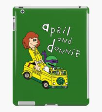 April and Donnie iPad Case/Skin
