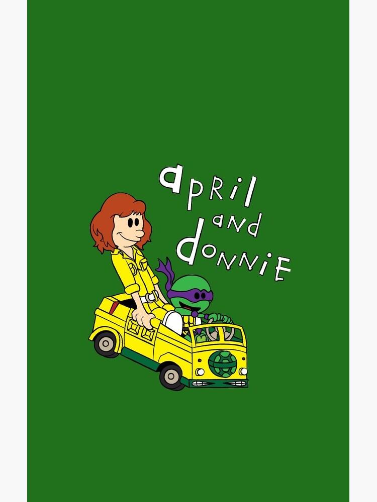 April y Donnie de leidemera