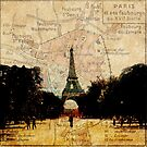 Paris on the Map by Linda Gregory