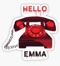 Hello Emma - SCREAM MTV Sticker
