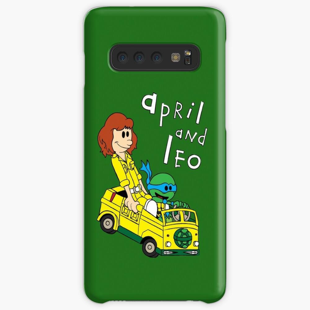 Abril y Leo Funda y vinilo para Samsung Galaxy