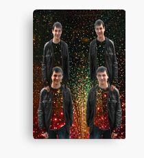 Four times my son in the stars Canvas Print