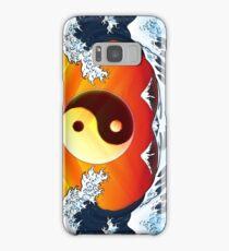 Ying Yang Sunrise Samsung Galaxy Case/Skin