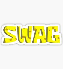 spongebob swagpants Sticker