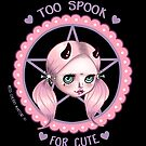 Too Spook for Cute (Close Up)  by Miss Cherry  Martini
