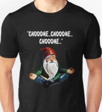 Gnome Meditating Gnooome Gnooome Gnooome Funny T-Shirt