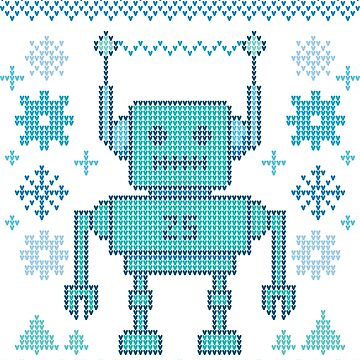 winter robot by manikx