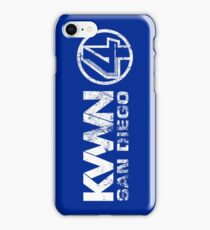 KVWN San Diego (Distressed) iPhone Case/Skin