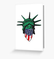 Statue of Liberty USA Greeting Card