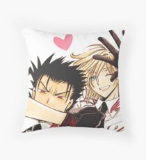 KuroFai Throw Pillow