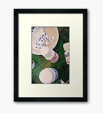 Social Addiction Framed Print