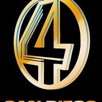 Channel 4 San Diego (Gold) by Cinerama