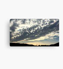 Heaven's Rays Canvas Print