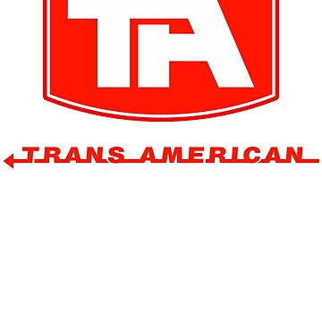 Trans American Airlines (Red Text) by Cinerama