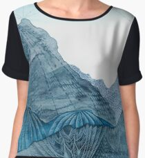 A Painting of a Landscape that Doesn't Exist Women's Chiffon Top